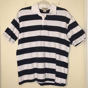 J Crew Short Sleeve Rugby Shirt